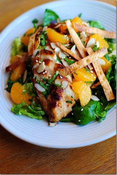 sesame chicken salad...