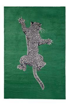 Climbing Leopard rug by diane von furstenberg