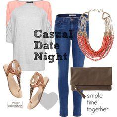 casual date night