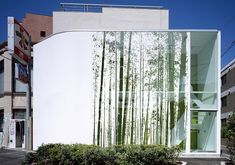 graphic film on glass, Billboard Building by Klein Dytham