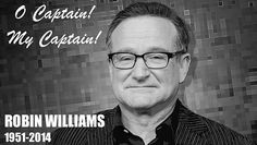 R.I.P. Robin Williams. Such a talented man. My favorite comedian. What a loss. So sad..