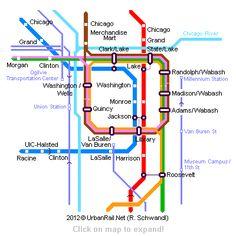 """""""L"""" & Subway routes"""