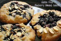 Gluten Free Blueberry Galettes