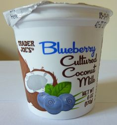 What's Good at Trader Joe's?: Trader Joe's Blueberry Cultured Coconut Milk