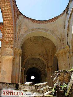 Ruinas de la Catedral de Antigua Guatemala, Sacatepequez, Guatemala