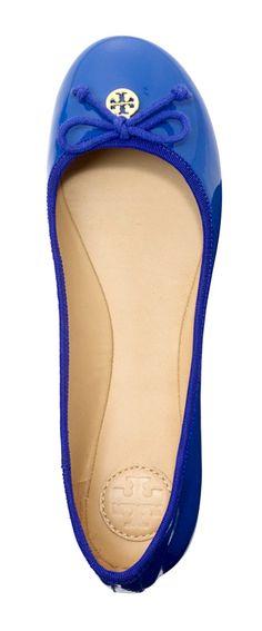 color, cobalt blue, into the blue, ballet flats