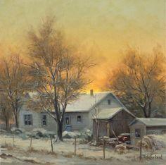 Rural Winter by John Pototschnik
