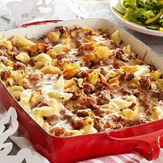 Make-Ahead Unstuffed Shells Recipe from our friends at KRAFT®