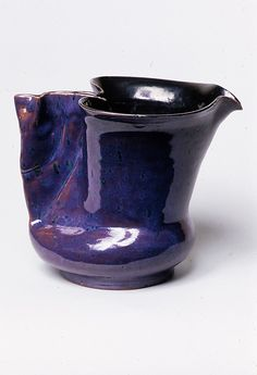 Pitcher, George Ohr, ca. 1893-1909, the Met Collection