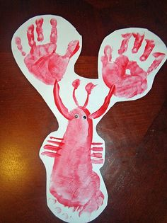 Kids craft-lobsters