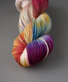 Tricksy Knitter - Superwash & Silk Kit - Unicorns