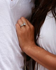 WOW!! best wedding ring ever ;D Channing Tatum's wife's ring... <3 <3 studdd... he knows how to pick them right!