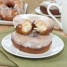 Krispy Kreme Kopycat Doughnuts  from Sweet Pea's Kitchen