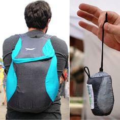 The Bindle Pack - Lightweight, compact micro backpack, daypack lights, backpacks, trek light, pocket, bag, microbackpack fold, packback, light gear, gears