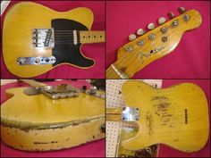 Nancy, Roy Buchanans Telecaster...