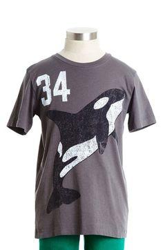 Peek 'Killer Whale' Cotton T-Shirt (Toddler Boys, Little Boys & Big Boys)   Nordstrom