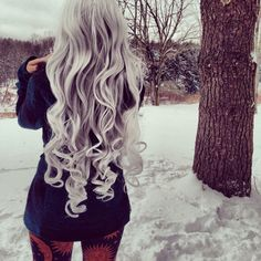I just love how long It is, I wish my hair would be this long and healthy!!...even though this is a wig..