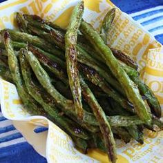 Roasted Green Beans - the one I used