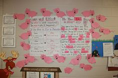 Cause and Effect with If You Give A Pig A Pancake  Antonym Activity: Three Little Pigs Antonym Story!