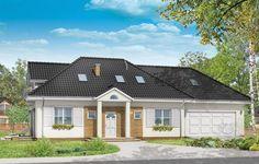 Projekt Magnolia to dom jednorodzinny dla cztero-pięcioosobowej rodziny. Budynek jest parterowy z użytkowym poddaszem, oraz dobudowanym dwustanowiskowym garażem. Projekt nawiązuje swoją architekturą do typowego polskiego dworku. W udany sposób połączono w nim tradycyjną formę z nowoczesną funkcją, materiałami i detalami. Dzięki otwarciu tarasów na dwie strony, na elewację tylną i boczną, dom może być posadowiony na działce z ogrodem w tylnej lub w bocznej części działki.