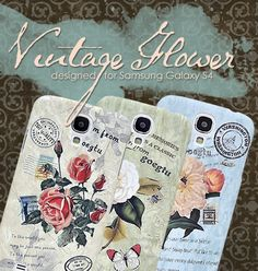 Vintage Flower Series Samsung Galaxy S4 Cases  http://www.dsstyles.com/vintage-flower-series-samsung-galaxy-s4-cases-i9500-rose.html
