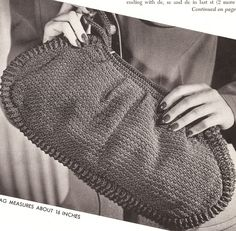 Vintage Handbag Crochet Pattern