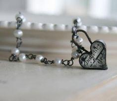 . water pearl, locket, devot necklac