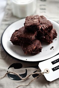 Edible gift idea: Brownie mix