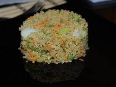 Receita de Quinoa (quinua) com legumes - Tudo Gostoso