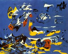 Jackson Pollock - Blue (Moby Dick)