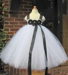 My Fair Lady  Flower Girl  Dress \ by whererainbowsend1