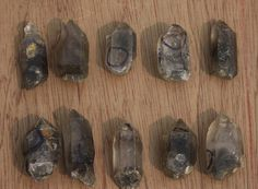 Tibetan Black Quartz Points - Powerful protection crystals are found in the Himalayan Mountains of Tibet and Nepal. This is one of the most sacred areas on Earth and these points are mined by hand by the Tibetan monks in the area. Tibetan Black Quartz are among the most powerful protection crystals. They are cleansing and can be used to purify a living space.  They make excellent meditation crystals. Tibetan Black Quartz brings rapid expansion of consciouness.
