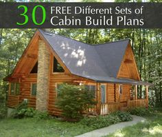 Homestead-and-Survival.com: Free-30-Different-Sets-Of-Cabin-Build-Plans