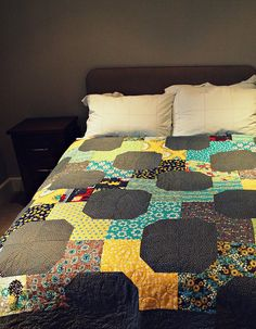 cute! ... free quilt tutorial.