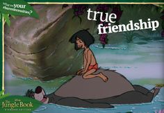 #BareNecessities: True Friendship.