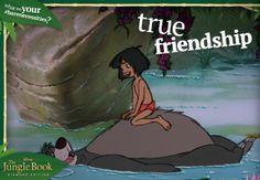 #BareNecessities: True Friendship.