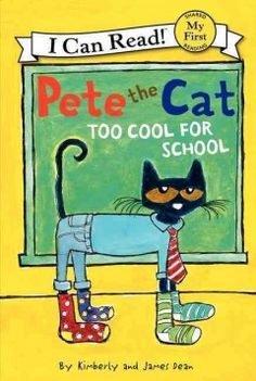 ER DEA. Pete just can't decide which outfit to wear to school! He has so many options to choose from. Fans of Pete the Cat will enjoy Pete's creativity in choosing the coolest outfit.