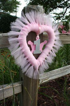Tulle Princess Wreath Idea