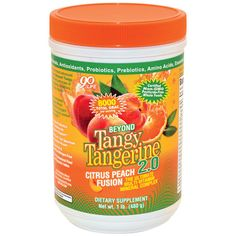 """PIN IT TO WIN IT!"" A canister of Beyond Tangy Tangerine 2.0 by Youngevity - the most advanced multi-vitamin mineral complex to date that provides you the highest quality essential nutrients that your body needs for optimal health. Synergizing cofactors ensure maximum nutrient absorption and benefits."