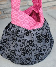 Sling Tote Tutorial - Crazy Little Projects
