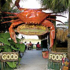 The Crab Shack on Tybee Island!