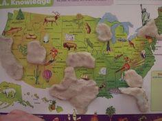Playdough Geography : Nurturing Learning