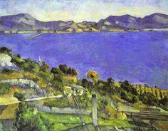 L'Estaque by Paul Cézanne