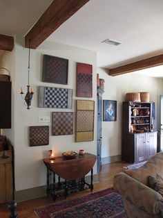 love the display of checkerboards