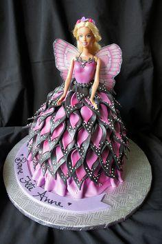 barbie cake - wow