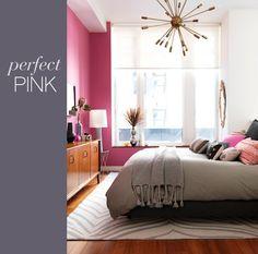 MIMI+MEG: INTERIOR INSPIRED: Feminine Modern Pink