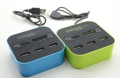 GroopDealz | Multi Port Combo Card Reader - 4 Colors!