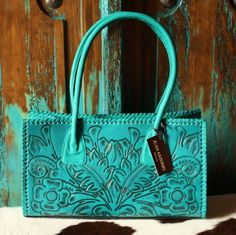 Juan Antonio Tooled Leather Purse @Marsha Campbell-Dunbar - I think you need this one!