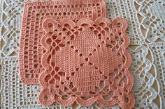 Gorgeous Bedspread made from two motifs (free pattern)