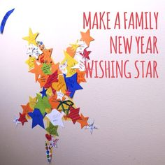 Make a New Year Wishing Star from This Fine Day